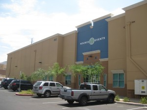 event management building in Las Vegas