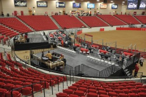 seating risers and rentals in henderson
