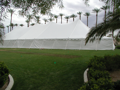 pole tent in las vegas