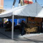 10x Tent Structure at an event in Las Vegas