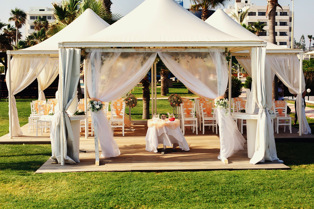 3 Ways To Decorate Your Wedding Tent Source 1 Events