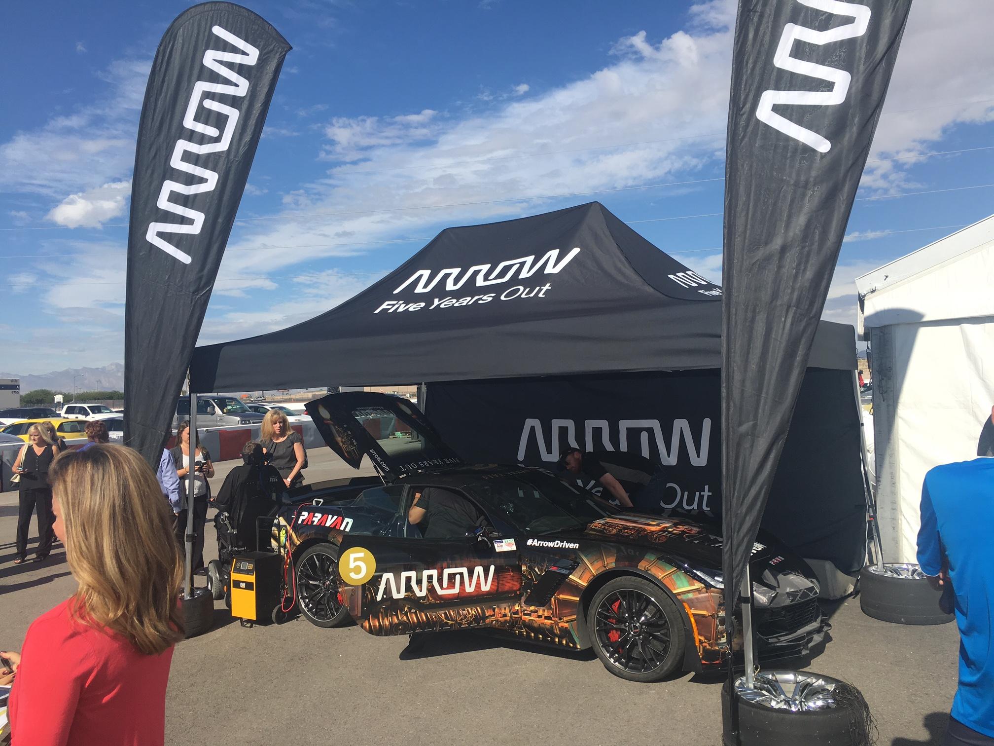 Sam Schmidt Las Vegas Motor Speedway press conference