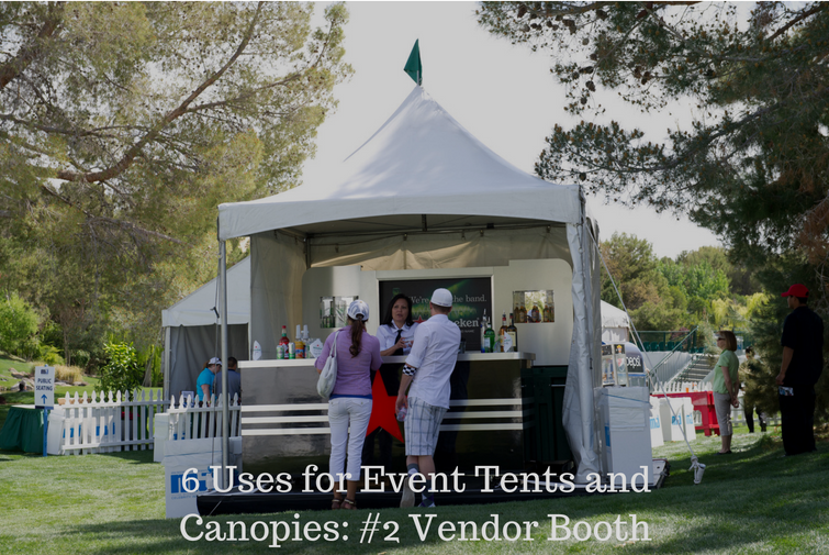 canopy rental for vendor booth