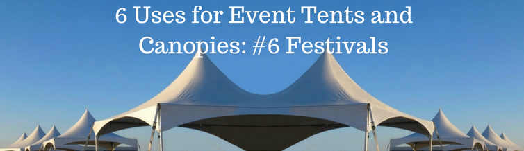 tent rental for festivals