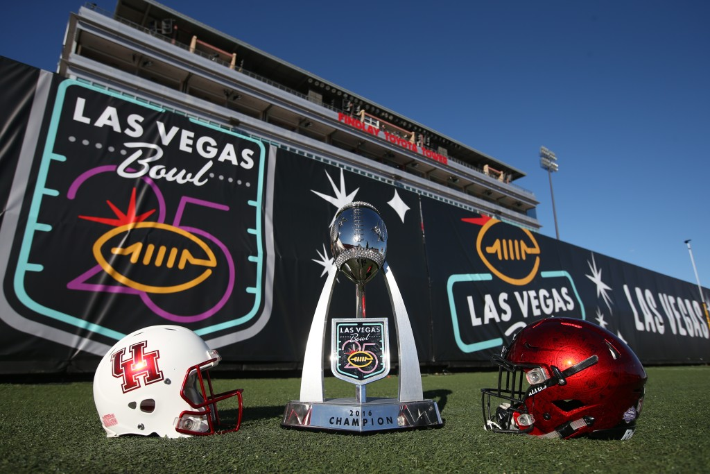 event work at Las Vegas Bowl
